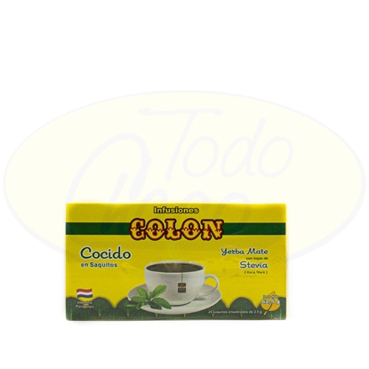 Picture of Cocido Colon Con Stevia  25 Saquitos