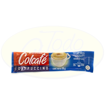 Picture of Cafe Cappuccino Vainilla Colcafe 18gr
