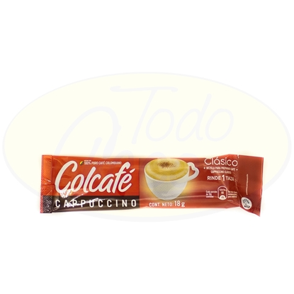 Picture of Cafe Cappuccino Clasico Colcafe 18gr