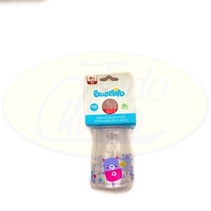 Picture of Biberon para Bebe Boca Ancha Babelito 250ml