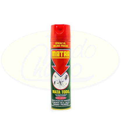Picture of Insecticida en Aerosol Mata Todo Matra 300ml