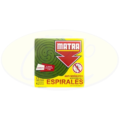 Picture of Espiral Anti Mosquitos Matra 12 Unidades
