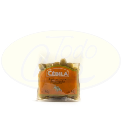 Picture of Aceituna Verdes Cebila Descarozadas 180g
