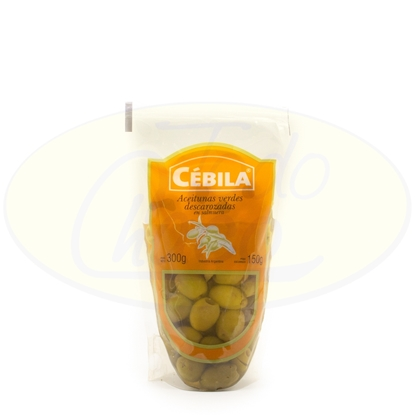 Picture of Aceitunas Verdes Cebila Descarozadas 150g