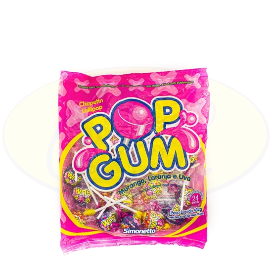 Picture of Chupetines Pop Gum Surtido 432g