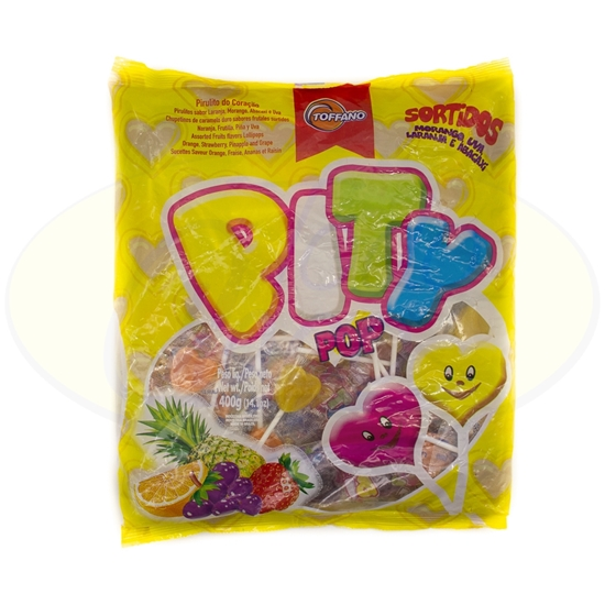 Picture of Chupetines Pity Pop Surtido 400g