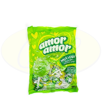 Picture of Chupetines Amor Amor Maca Verde 480g