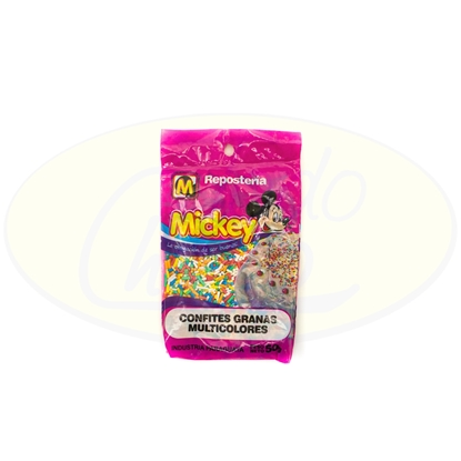 Picture of Confites Granas Multicolores Mickey 50g