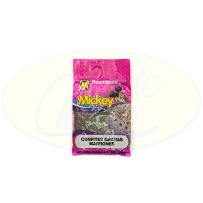 Picture of Confites Granas Marrones Mickey 50g