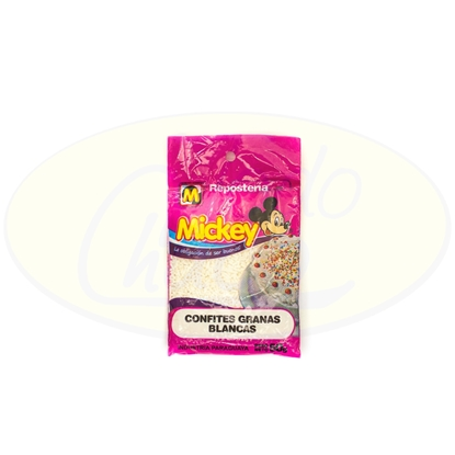 Picture of Confites Granas Blancas Mickey 50g