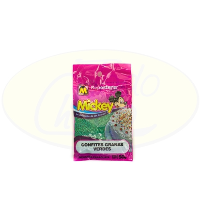 Picture of Confites Granas Verdes Mickey 50g