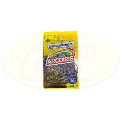 Picture of Confites Granas Marrones Arcoiris 50g