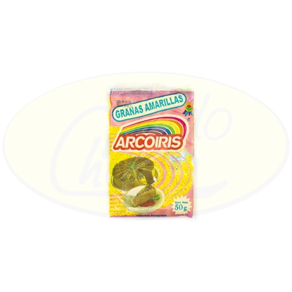 Picture of Granas Amarillas Arcoiris 50g