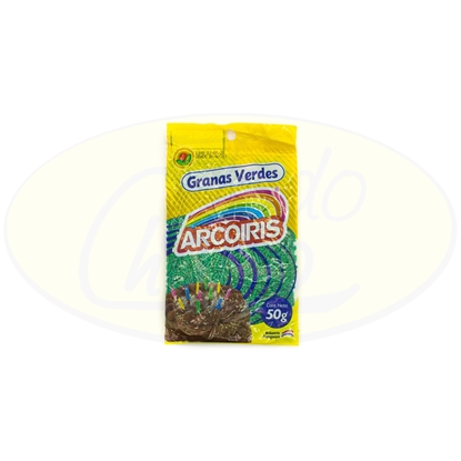 Picture of Granas Verdes Arcoiris 50g