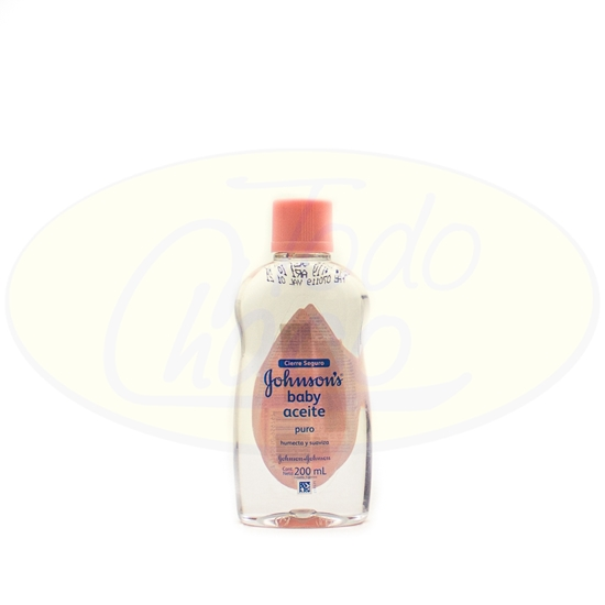 Picture of Aceite Johnsons Baby Puro 200ml