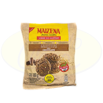 Picture of Galletita Maizena Chocolate Sin Gluten 180gr