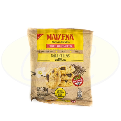 Picture of Galletita Maizena Vainilla Sin Gluten 180gr