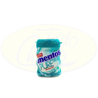 Bild von Chicle Mentos Pure Fresh Wintergreen Sin Azucar