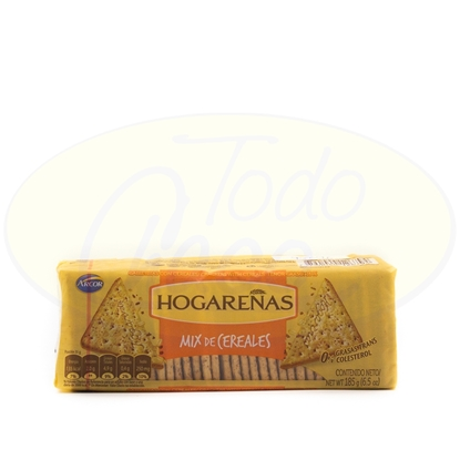 Bild von Galletitas Hogarenas Mix de Cereales 185g