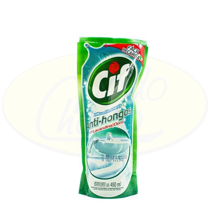 Picture of Cif Con Lavandina Anti-hongos Sachet 450ml