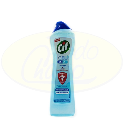 Picture of Cif Gel 2 En1 Original  Antibacterial 500ml
