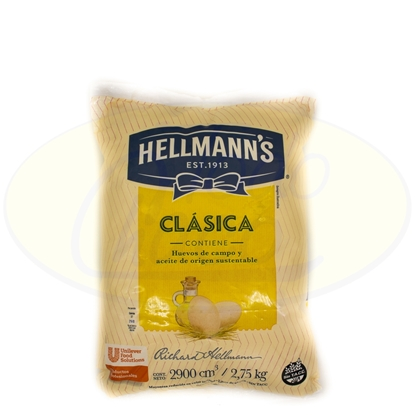 Picture of Mayonesa Salchet Hellmanns 2,75kg