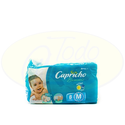 Picture of Pañal Bummies Capricho Mediano 8 Unidades