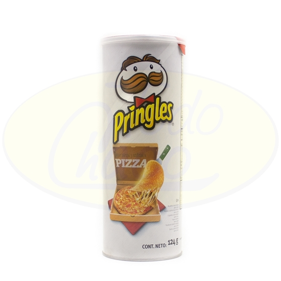 Picture of Papas Fritas  Pringles Pizza Crips 124g