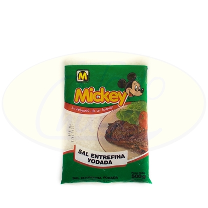 Picture of Sal Entrefina Mickey 500g