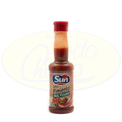 Picture of Salsa Pimienta Mas Picante Sun 150ml