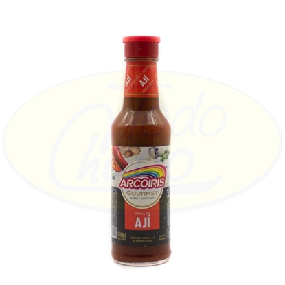 Picture of Salsa de Aji Arcoiris Extra Picante 150ml