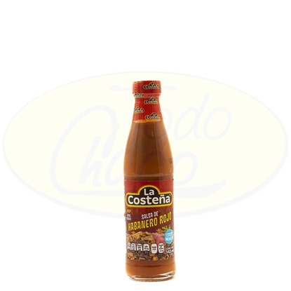 Picture of Salsa Habanero Rojo La Costeña 145ml