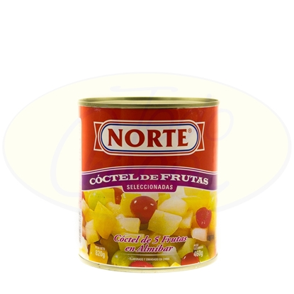 Picture of Coctel De Frutas Norte 485g