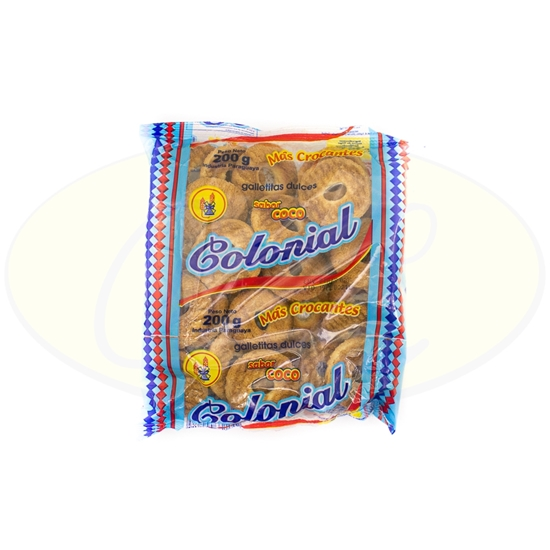 Picture of Galletitas Colonial Mas Crocantes 200g