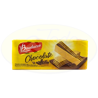 Picture of Galletitas Bauducco Wafer Chocolate 140g