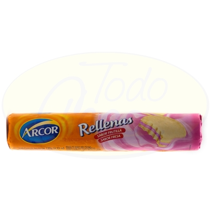 Picture of Galletitas Arcor Rellenas Frutilla 120g