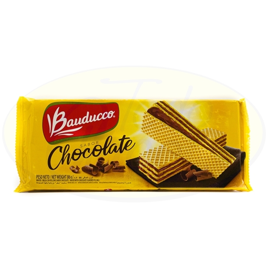 Picture of Galletitas Bauducco Wafer Chocolate 86g