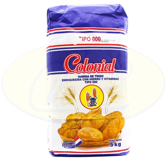 Picture of Harina Colonial Azul T000 - 5kg