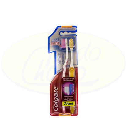 Bild von Cepillo Dental Colgate Slim Soft 2x1