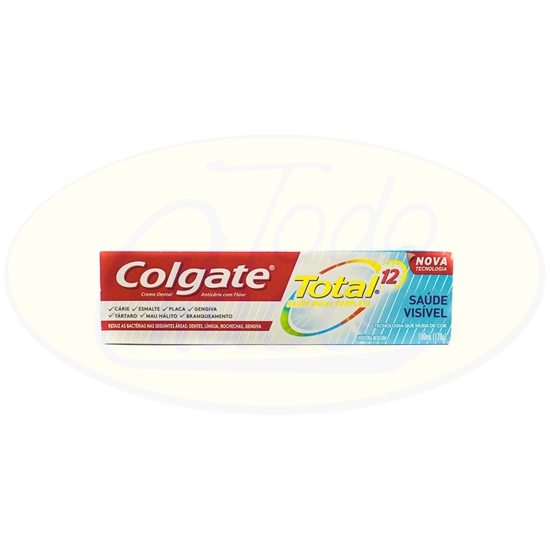 Picture of Pasta Dental Total Salud Visible Colgate 128g