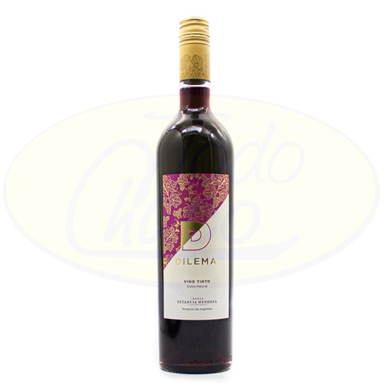 Picture of Vino Dilema Tinto Dulce Natural 750ml