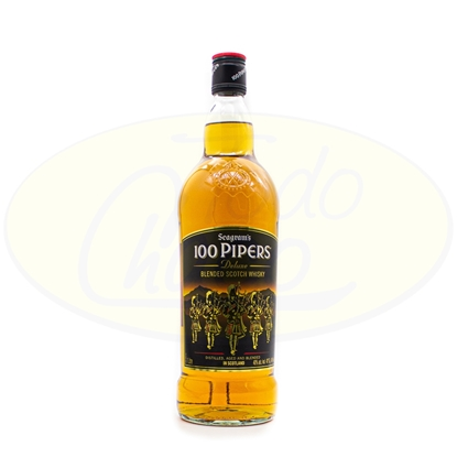 Picture of Whisky 100 Pipers 1litro
