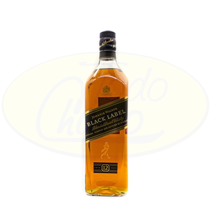 Picture of Whisky Johnnie Walker Black Label 1litro