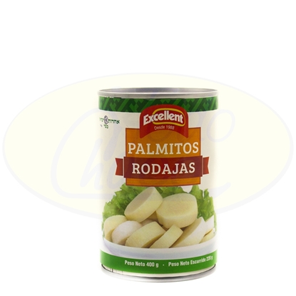 Picture of Palmitos Rodajas Excellent 400g