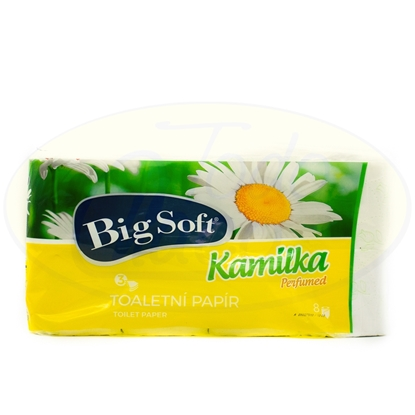 Picture of Papel Higienico Big Soft Kamilka Tres Hojas Perfumed 8