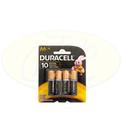 Picture of Pila Alcalina Duracell AA x 4