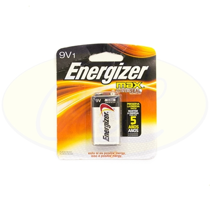 Picture of Pila Alcalina 9V Energizer