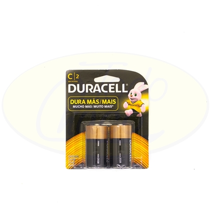 Picture of Pila Alcalina Duracell C x 2