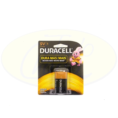 Picture of Pila Alcalina 9V Duracell