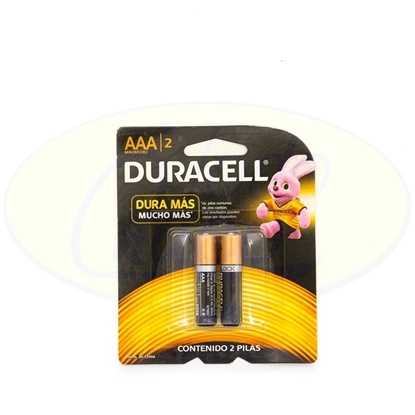 Picture of Pila Alcalina Duracell AAA x 2